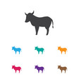 of animal symbol on kine icon vector image