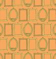 Sketch frames in vintage style vector image vector image