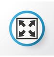 widen icon symbol premium quality isolated vector image vector image