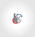building eagle logo vector image