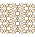 golden honeycomb seamless abstract pattern vector image vector image