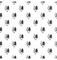 pine pattern seamless vector image
