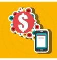 smartphone group online apps vector image