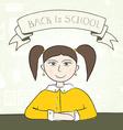 School Student vector image