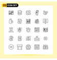 25 creative icons modern signs and symbols