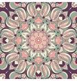 Beautiful purple arabesque lace pattern background vector image