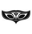 carnival fashion mask icon simple style vector image