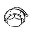christmas elf cartoon character santa helper vector image