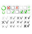 cross hook collection icons set black vector image vector image
