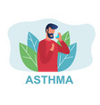different types diseases asthma