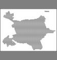 dotted map tirana vector image vector image