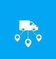 logistics delivery service icon vector image