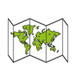 map icon design vector image vector image