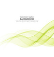 abstract background color flow waved lines vector image vector image