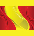 abstract red and yellow background vector image