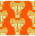 African seamless pattern vector image