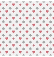 Colorful card suits pattern vector image vector image