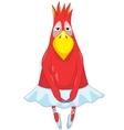 Funny Parrot Dancer vector image