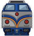 gray train design on white background vector image vector image