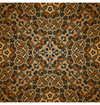 Old carpet pattern vector image vector image