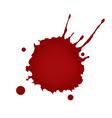 Realistic blood splatters vector image vector image