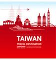 Taiwan travel destination
