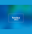 blue gradient background with green hues vector image