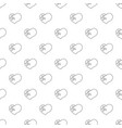 broken heart pattern seamless vector image vector image