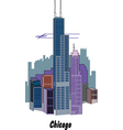Chicago vector image vector image