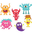 Cute Moster vector image vector image