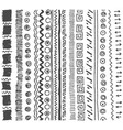 hand drawn sketch of simple pattern vector image vector image