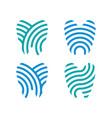 health dent logo design template vector image vector image