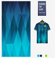 soccer jersey pattern design geometric pattern vector image