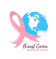 Abstract breast cancer design