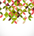 abstract colorful floral pattern concept vector image vector image