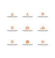 logo bundle inspiration vector image vector image