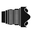 modern camera lens icon simple style vector image vector image
