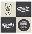 music type font type font vector image vector image