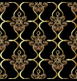 ornamental vintage seamless pattern vector image