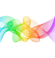 rainbow fractal background rainbow color lines vector image vector image