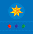 set of stars of web icons banner vector image vector image