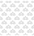 Star banner pattern seamless vector image vector image