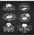 vintage label bakery vector image
