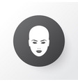 face icon symbol premium quality isolated head vector image