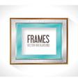Frame card design vector image vector image