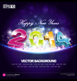 Happy New Year 2014 Background Desing vector image vector image