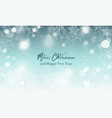 merry christmas and happy new year wishes blurred vector image