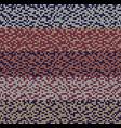 seamless violet motley knitting pattern vector image vector image