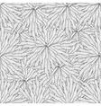 Seamless zentangle seaweed wave hand drawn pattern
