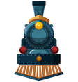 train design on white background vector image vector image